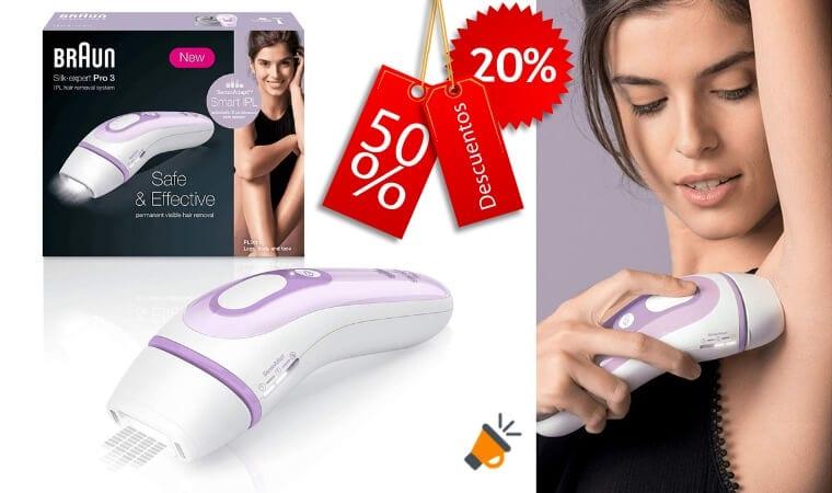 oferta Braun Silk%C2%B7Expert Pro 3 depiladora barata SuperChollos