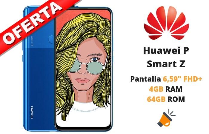 oferta Huawei P smart Z barato SuperChollos