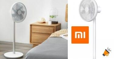 oferta Ventilador de pie Xiaomi Mijia SmartMi barato SuperChollos