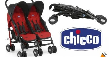 oferta Silla de paseo gemelar Chicco Echo Twin barata SuperChollos