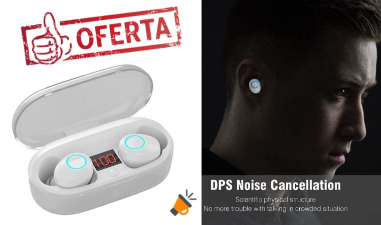 oferta Auriculares Bluetooth Abeyete barato SuperChollos