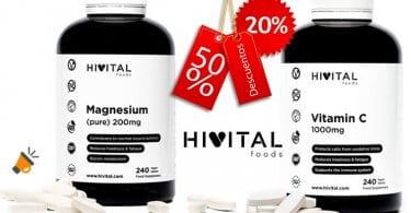 OFERTA suplementos vitaminicos hivital baratos amazon BARATOS SuperChollos