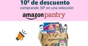 Amazon Pantry 10 euros descuento superchollos SuperChollos