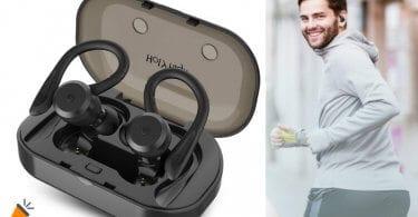 oferta HolyHigh Auriculares Bluetooth baratos SuperChollos