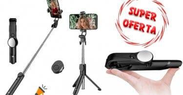 oferta LATEC Palo Selfie Tripode barato SuperChollos