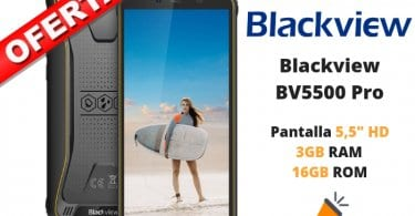 oferta Blackview BV5500 Pro barato SuperChollos