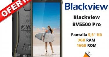 oferta Blackview BV5500 Pro barato SuperChollos