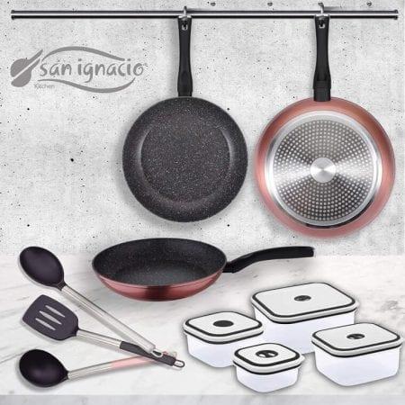 Set de cocina San Ignacio PK1411 barato SuperChollos