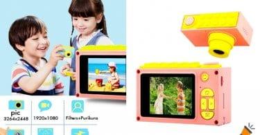 oferta Ca%CC%81mara de fotos infantil ShinePick barata SuperChollos
