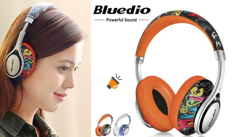 oferta Auriculares inala%CC%81mbricos Bluedio A2 baratos SuperChollos
