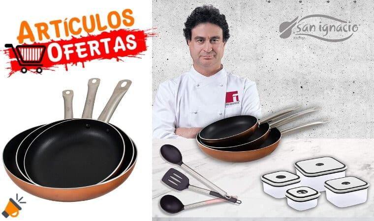 oferta San Ignacio PK1413 sartenes baratas SuperChollos