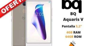 oferta BQ Aquaris V barato SuperChollos