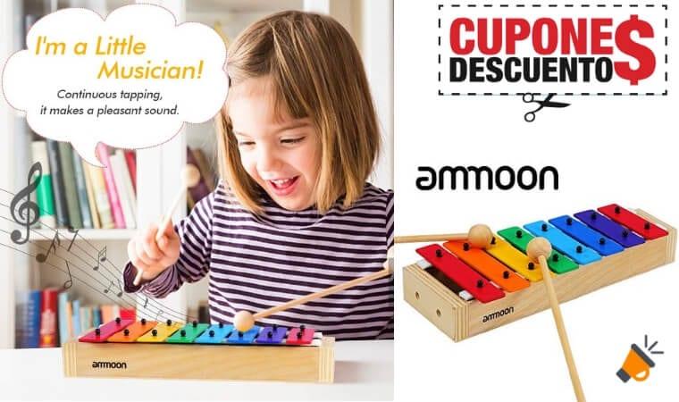 oferta ammoon Xilo%CC%81fono Glockenspiel barato SuperChollos