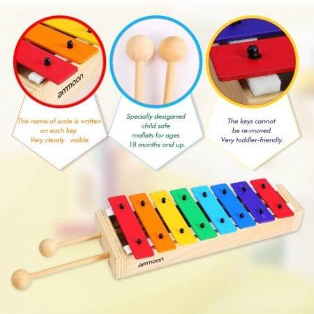 Xilofono Ammoon Glockenspiel barato SuperChollos