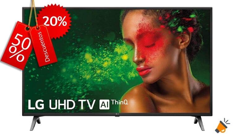 oferta LG 55UM7100ALEXA Smart TV barata SuperChollos