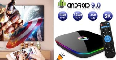 oferta Android TV Box 9.0 barata SuperChollos