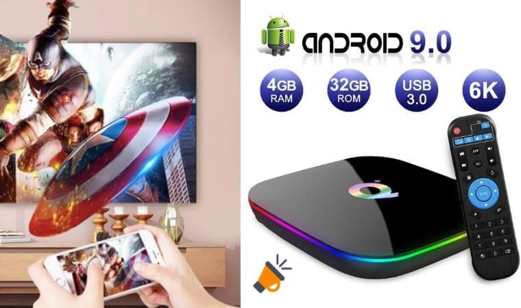 oferta Android TV Box 9.0 barata SuperChollos