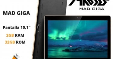 oferta MAD GIGA Tablet barata SuperChollos
