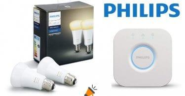 oferta Philips Hue White Ambiance barato SuperChollos