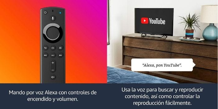 oferta chollo Amazon Fire TV Stick con mando por voz Alexa descuento SuperChollos