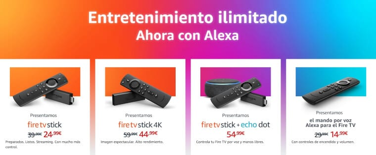 packs amazon fire tv stick baratos SuperChollos