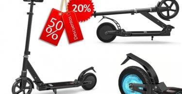 oferta Patinete ele%CC%81ctrico plegable E9 barato SuperChollos