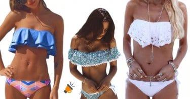 oferta Conjunto de bikini con top barato SuperChollos