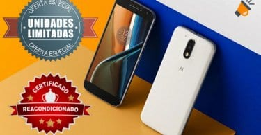 oferta Moto G4 Plus reacondicionado barato SuperChollos