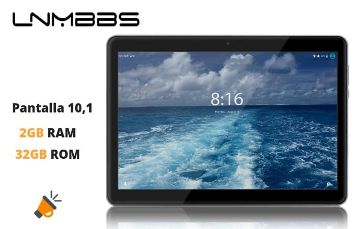 oferta tablet LNMBBS barata SuperChollos