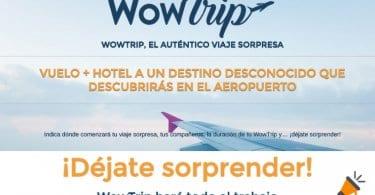 OFERTAS WOWTRIP SuperChollos