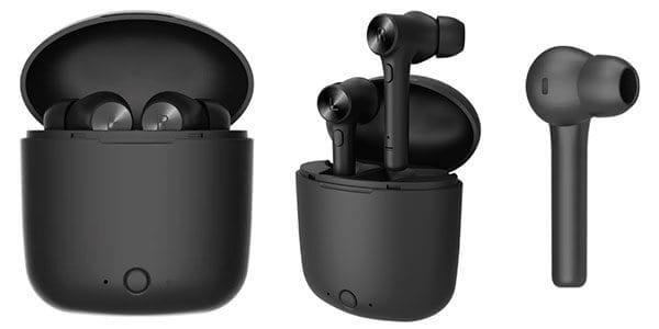 auriculares bluedio hi tws bluetooth 5.0 in ear negro oferta caja carga SuperChollos