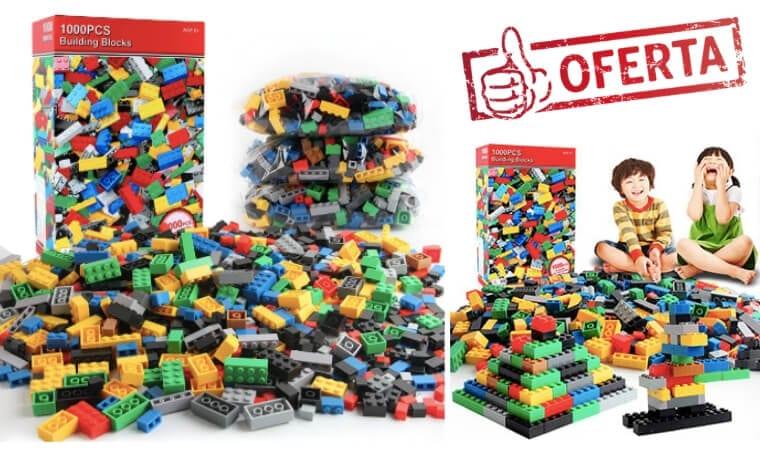 oferta Pack de 1.000 bloques lego barato SuperChollos