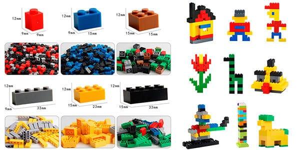 Pack de 1.000 bloques LEGO barato SuperChollos