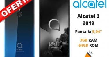 oferta Alcatel 3 2019 barato SuperChollos