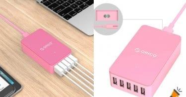 oferta ORICO Go%CC%88ttin Cargador USB barato SuperChollos