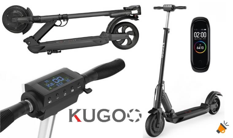 oferta KUGOO S1 patinete electrico barato SuperChollos