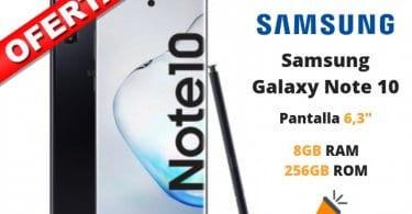 oferta Samsung Galaxy Note 10 barato SuperChollos