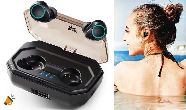 oferta Auriculares Bluetooth 5.0 AXLOIE baratos SuperChollos