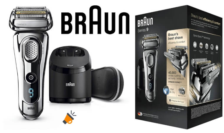 oferta Braun Series 9 9297 afeitadora barata SuperChollos