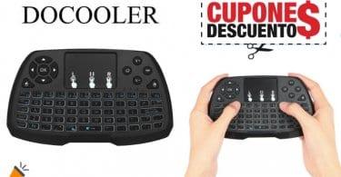 oferta Teclado Inala%CC%81mbrico docooler barato SuperChollos