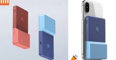 oferta Xiaomi Modular Reiling Power Sticker Wireless bateria barata SuperChollos