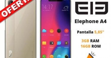 oferta Elephone A4 barato SuperChollos
