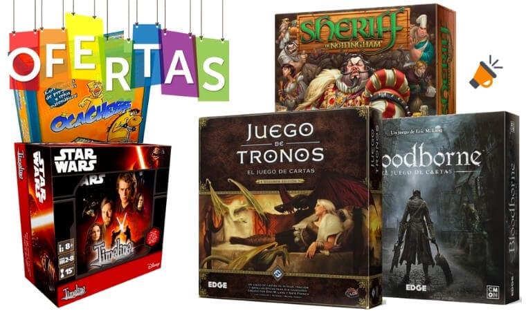 ofertas juegos de mesa baratos SuperChollos