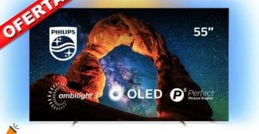 oferta Philips Ambilight 55OLED803 smart tv barata SuperChollos