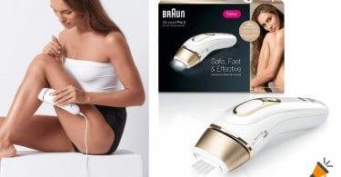 oferta Braun Silk Expert Pro 5 PL5014 Depiladora Luz Pulsada barata SuperChollos