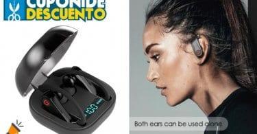 oferta Mini Auriculares Deportivos TWS Q62 baratos SuperChollos