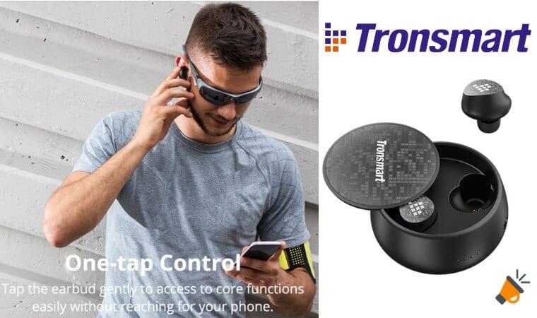 oferta Auriculares bluetooth Tronsmart Spunky Pro baratos SuperChollos