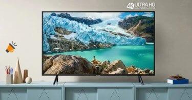 oferta samsung UE55RU7172 smart tv barata SuperChollos