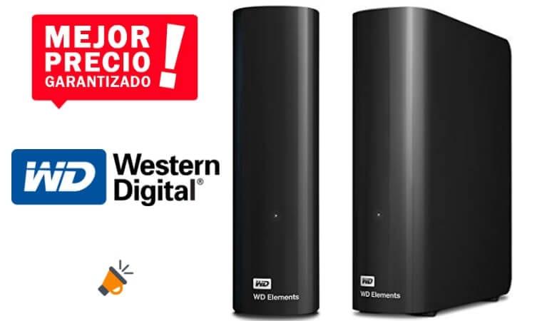 oferta WD Elements Desktop Disco duro barato SuperChollos