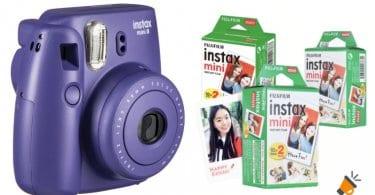oferta papel fotogra%CC%81fico para Instax Mini barato SuperChollos